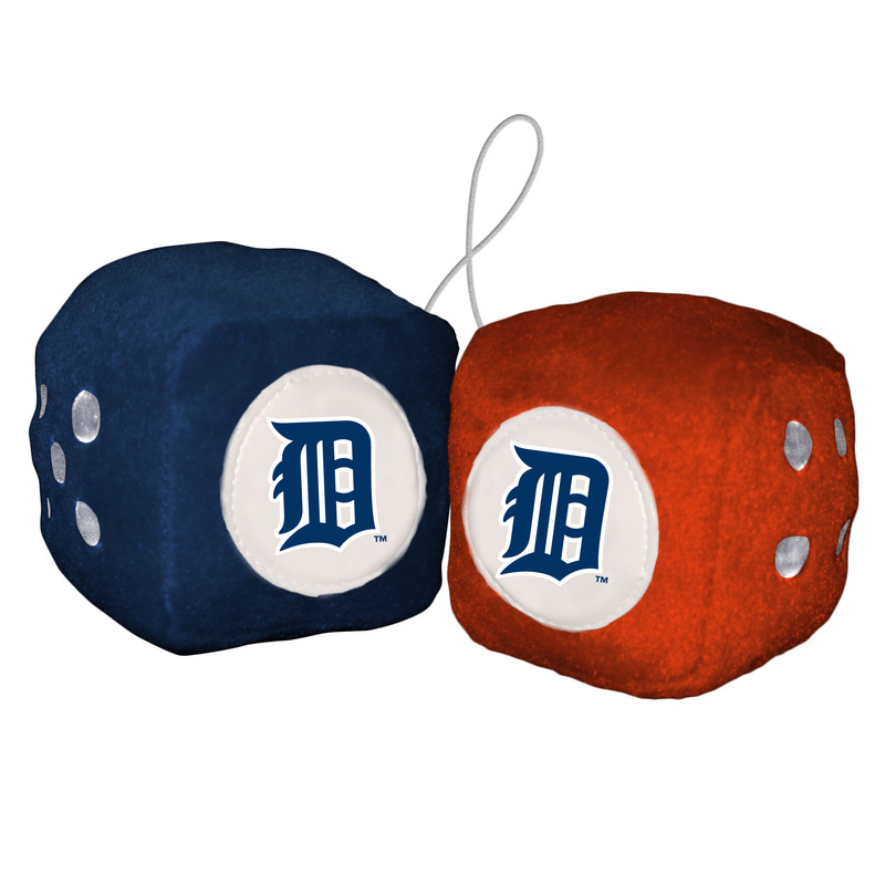Mlb Fuzzy Dice Fremont Die Consumer Products Inc