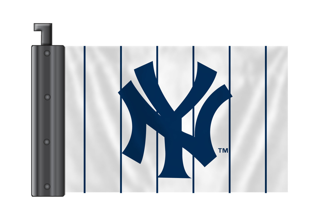 Mlb Antenna Flags