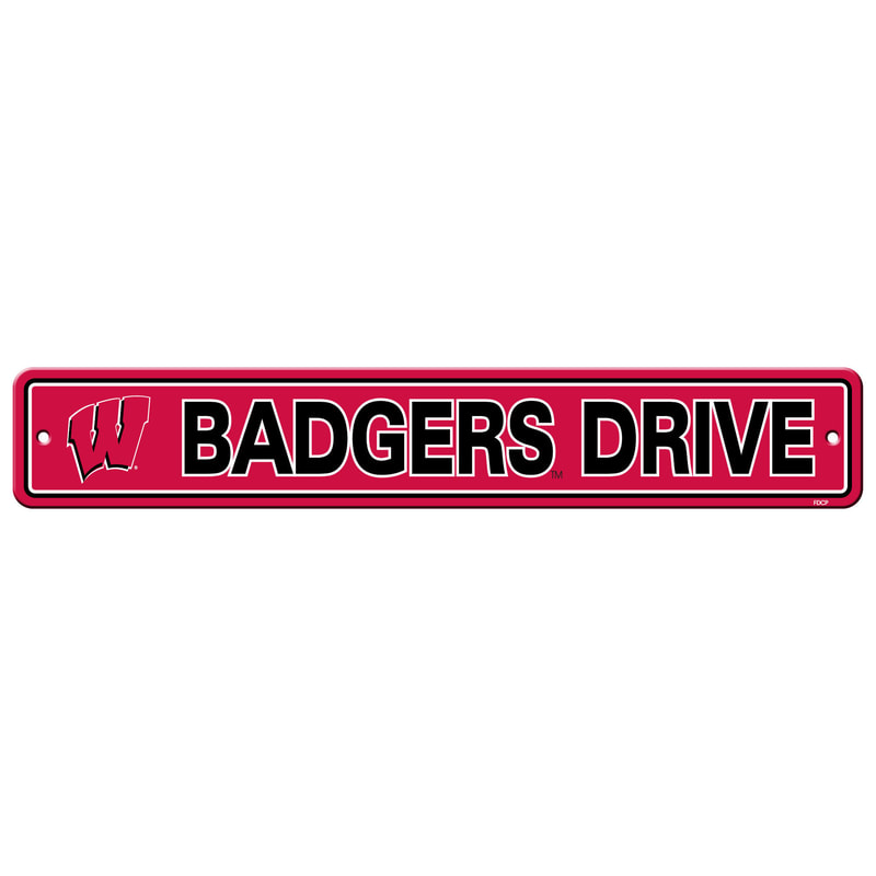 Wall Decor/Sports/BADGERS