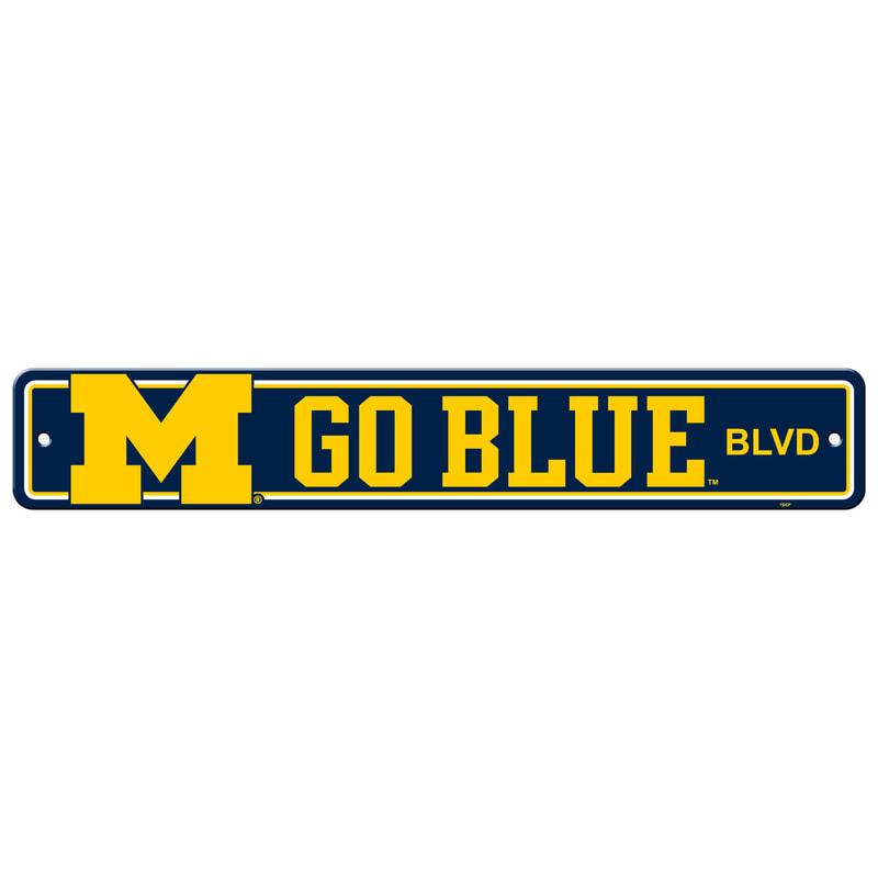 Wall Decor/Sports/MICHIGAN BLUE