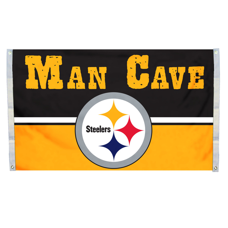 Nfl 3x5 Man Cave Flags