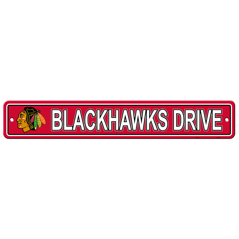 Wall Decor/Sports/BLACKHAWKS