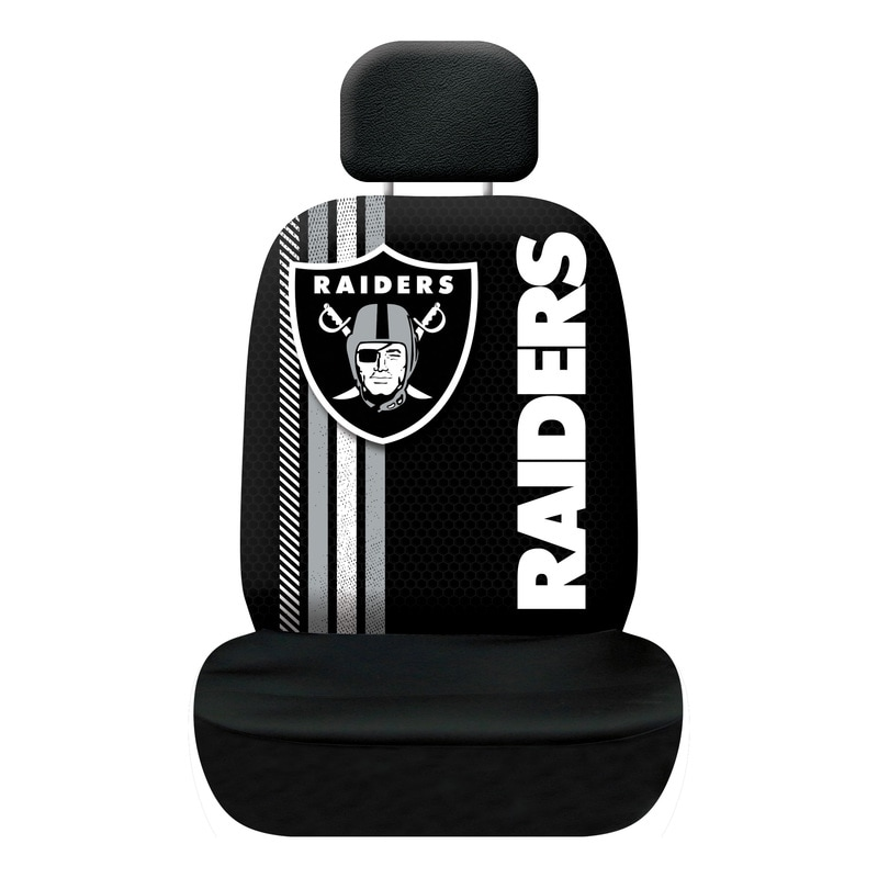 nfl rally seat covers fremont die consumer products inc. Black Bedroom Furniture Sets. Home Design Ideas