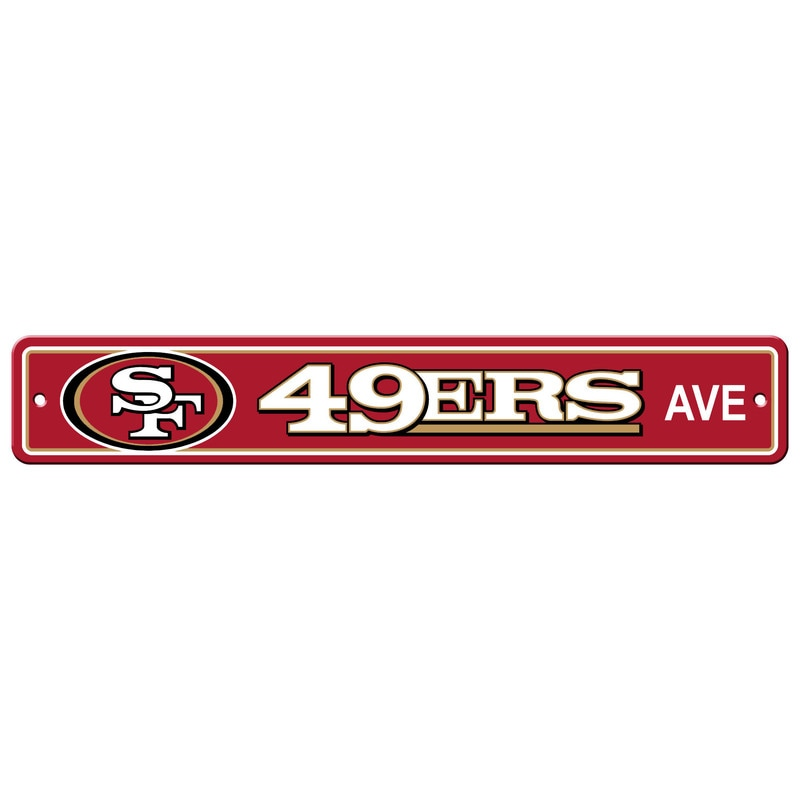 Wall Decor/Sports/49ERS