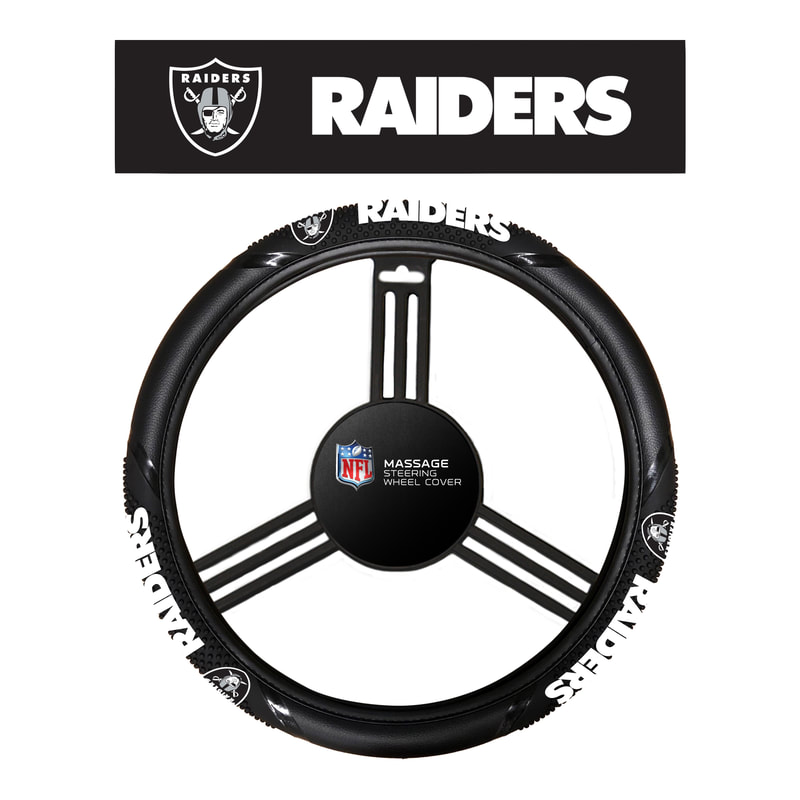 NFL Oakland Raiders Laser License Plate Frame Fremont Die Inc 91904