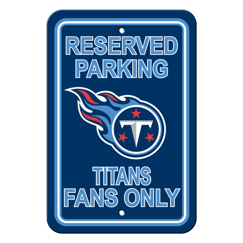 Nfl Reserved Parking Signs Fremont Die Consumer Products