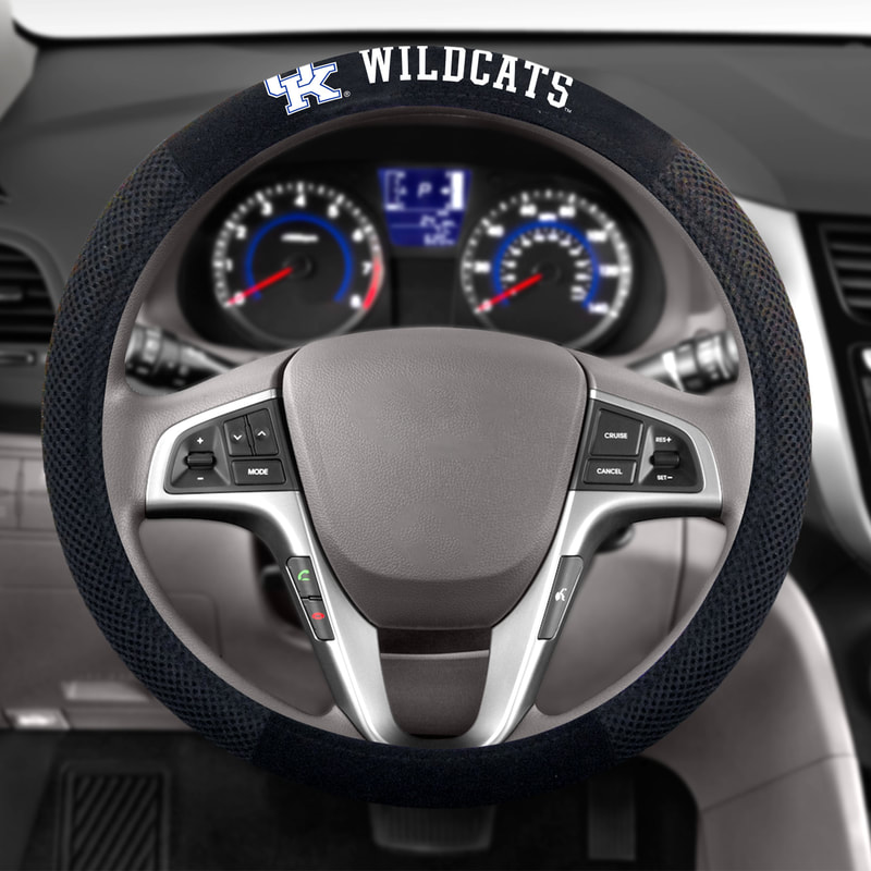 NCAA Poly-Suede Steering Wheel Cover